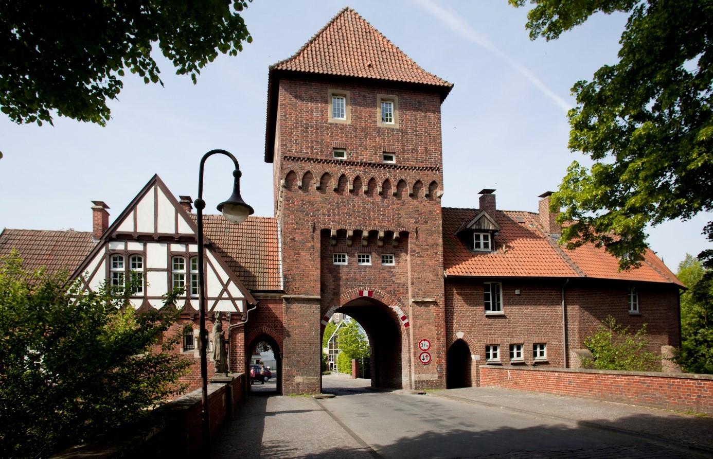 Eingangsbereich des Kunstvereins in Coesfeld